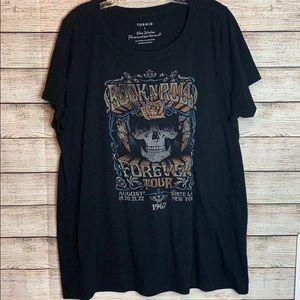 Torrid Rock N Roll Forever Graphic T-shirt